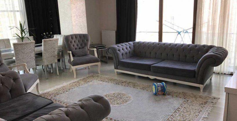 آپارتمان مبله سه خوابه در استانبول