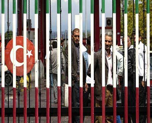 حمل و نقل بین ایران و ترکیه