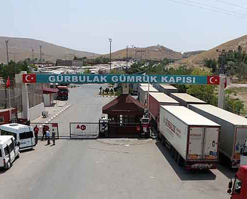 گمرک زمینی ایران و ترکیه