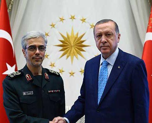رئیس ستاد مشترک ترکیه در ایران