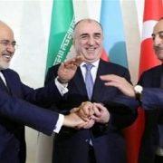 نشست ترکیه ایران و آذربایجان