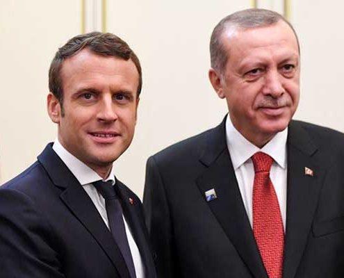 نشست وزای فرانسه و ترکیه