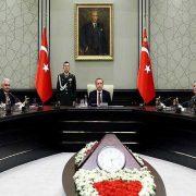 نشست شورای امنیت ملی ترکیه